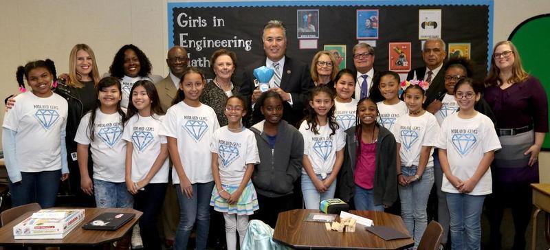 US Congressman Mark Takano visits Midland Elementary