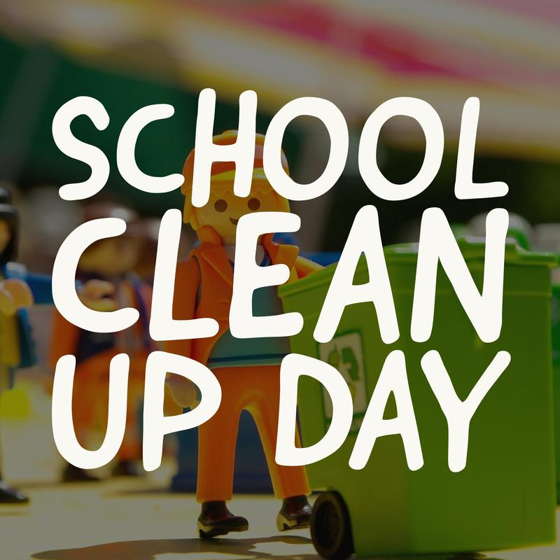 SAVE THE DATE - School Clean-up Day June 1st Featured Photo