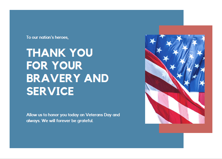 Veterans Day tributes from across the district