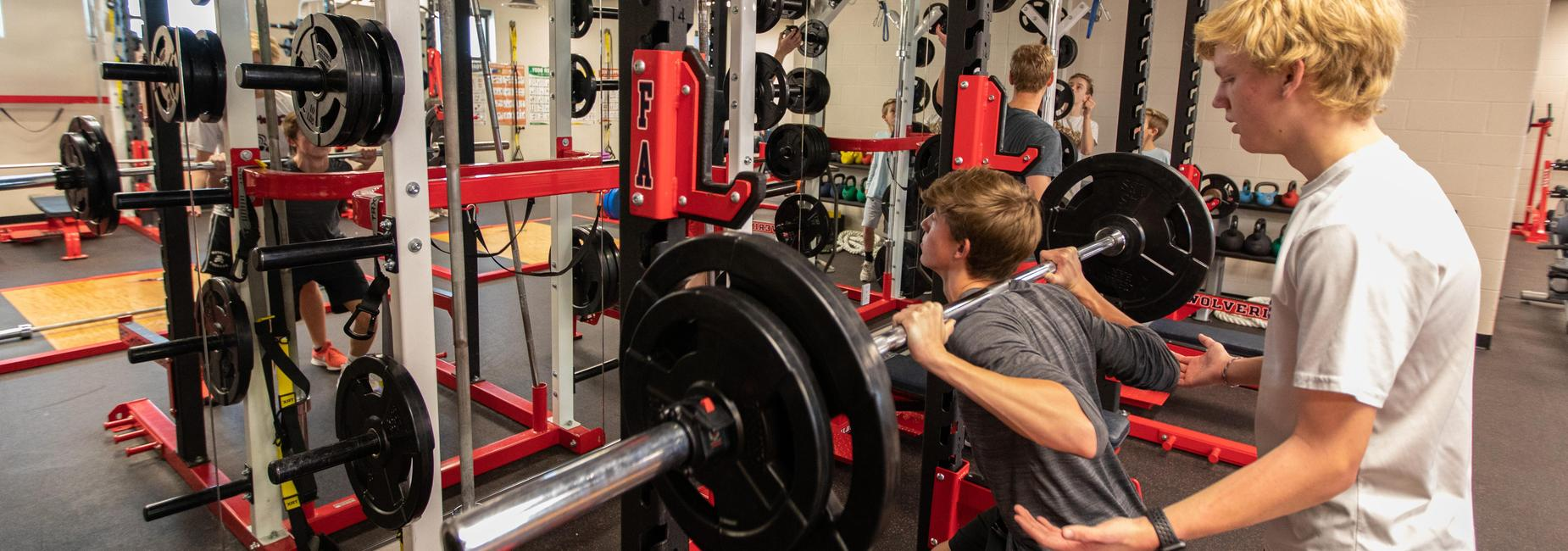 Secondary Weight Room