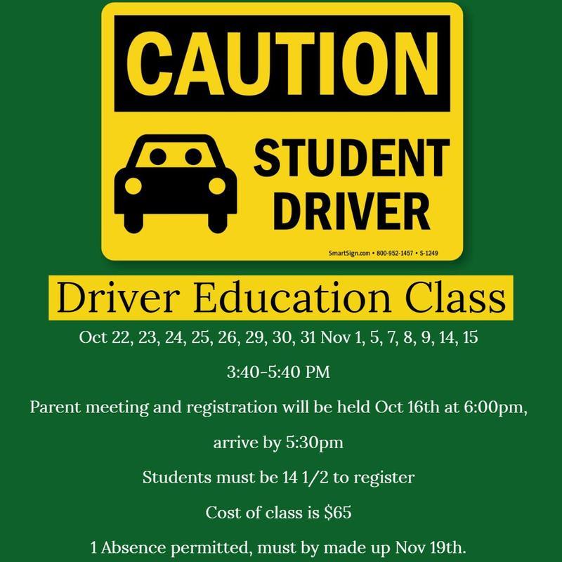 Driver Education Class Thumbnail Image