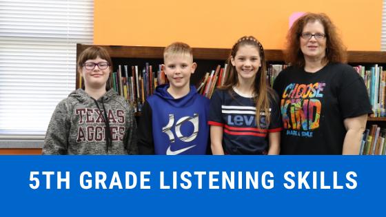 5th grade listening skills