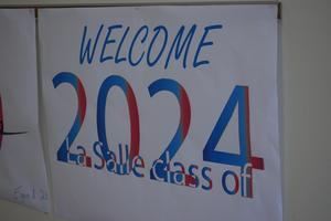 photo of welcome class of 2024