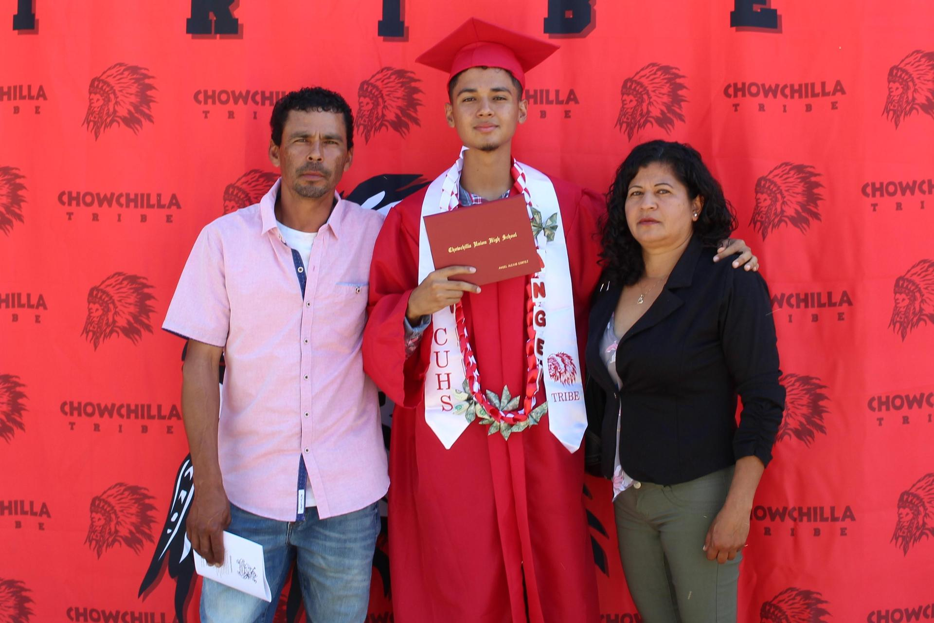 Angel Cortez and family