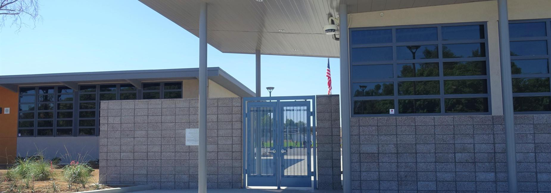Student Entrance/Exit Gate