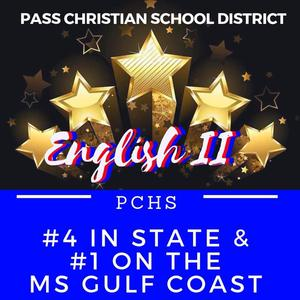 PCSD English II Number 4 in state and Number 1 on the Coast