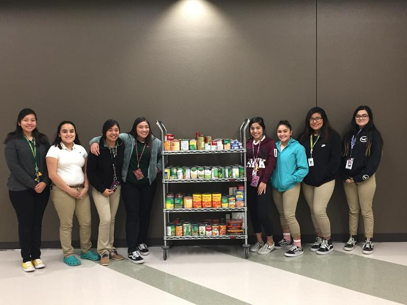CCHS Principles of Human Services Food Drive Featured Photo