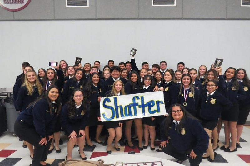 Shafter High FFA Earns High Awards in Speech Contest Thumbnail Image
