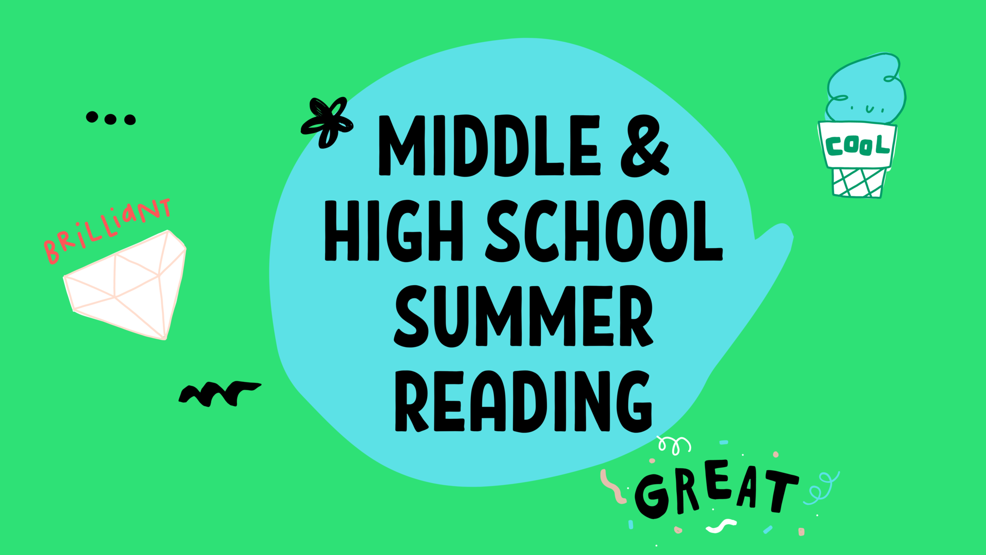 MS_HS English Summer Reading