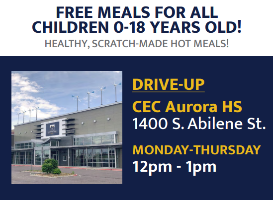 Students Can Receive Free Lunch at CEC Aurora Featured Photo