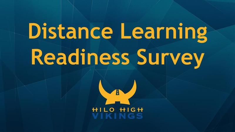 Distance Learning Readiness Survey Featured Photo