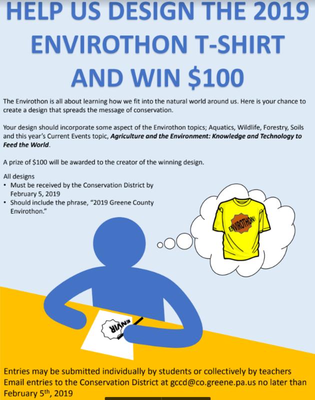 Envirothon T-shirt Contest- You Could Win $100! Thumbnail Image