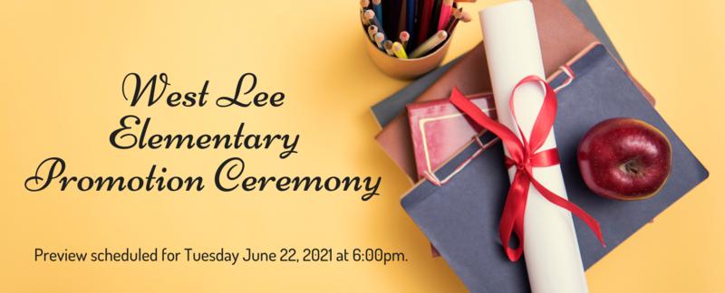 West Lee Promotion Ceremony