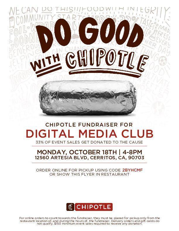 Digital Media Club flyer