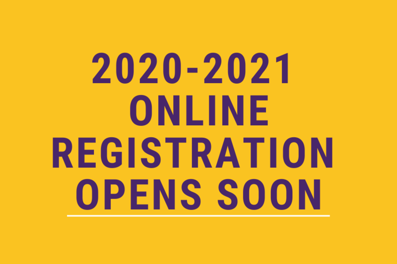 Online Registration Opens Soon