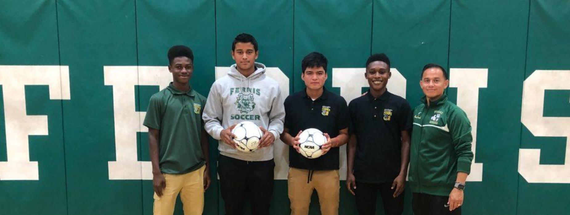 Ferris Boys Soccer team