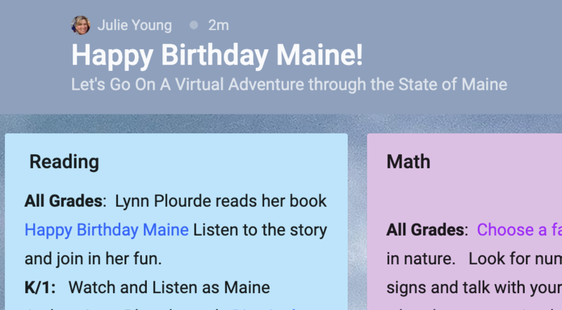 Happy Birthday Maine