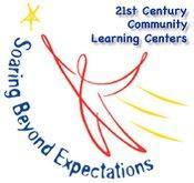 Logo: 21 Century Community Learning Centers: 'Soaring Beyond Expectations'