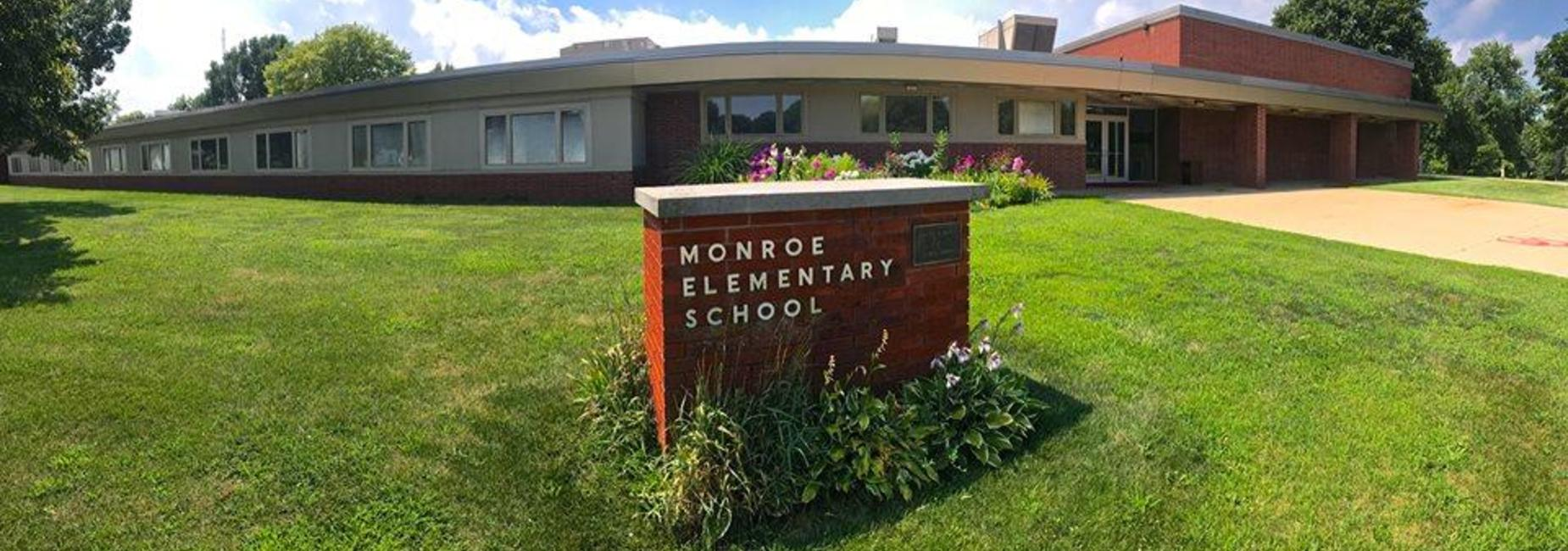 Front of Monroe Elementary