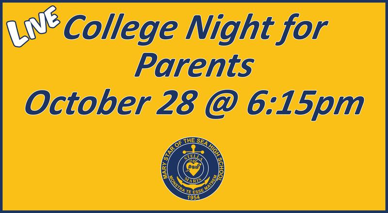 LIVE College Night for Parents Featured Photo