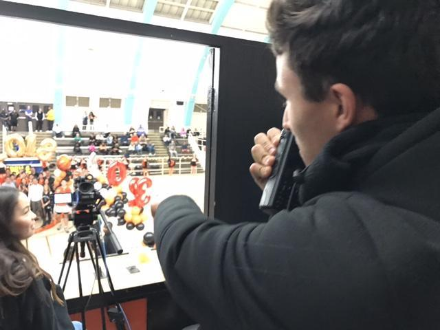 Production Ast. at Basketball Game