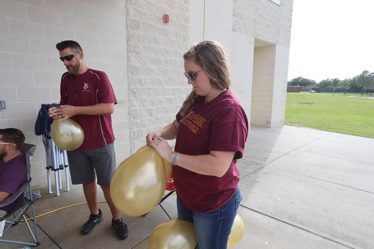 Special Olympics drive-by party