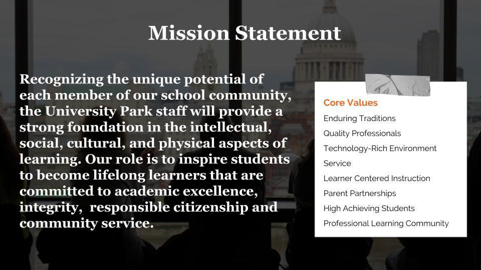 UP Mission Statement Graphic