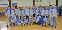 B-U Middle's Boys Basketball Team