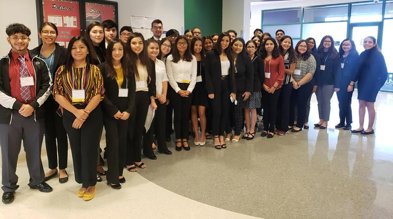 group of BPA students together