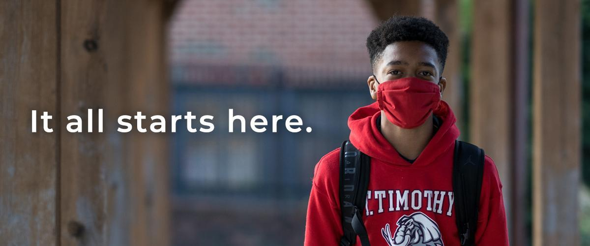 It All Starts Here - St. Timothy's School