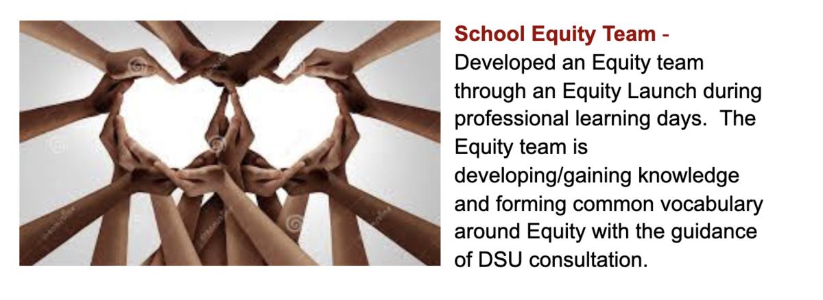DEI Equity Team Graphic
