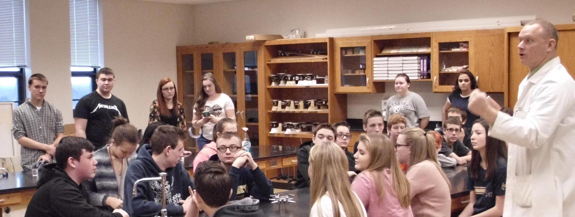 STEM Day at Norwin Middle School