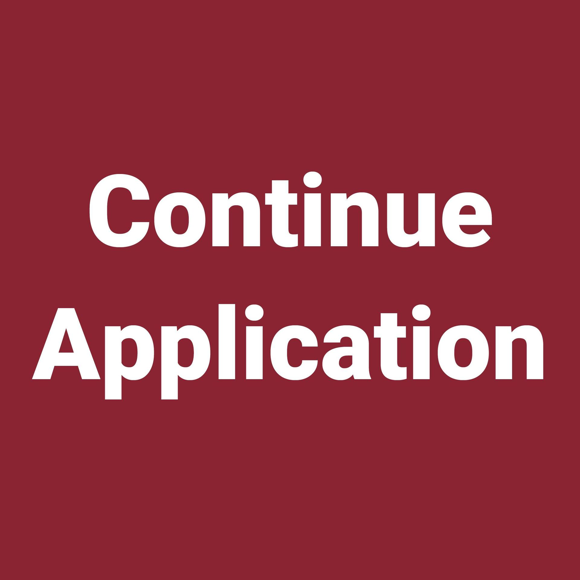 Continue Application button
