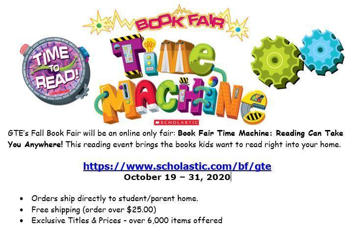 Shop Our Virtual Book Fair: Book Fair Time Machine Featured Photo
