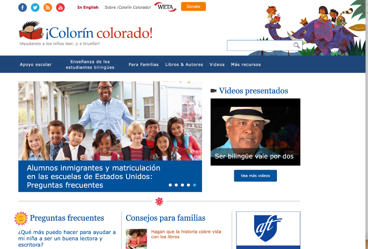 Colorin Colorado recurso en esp