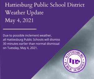 Hattiesburg Public School District Weather Update-2.png