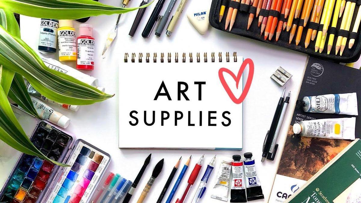 Art Class Supplies