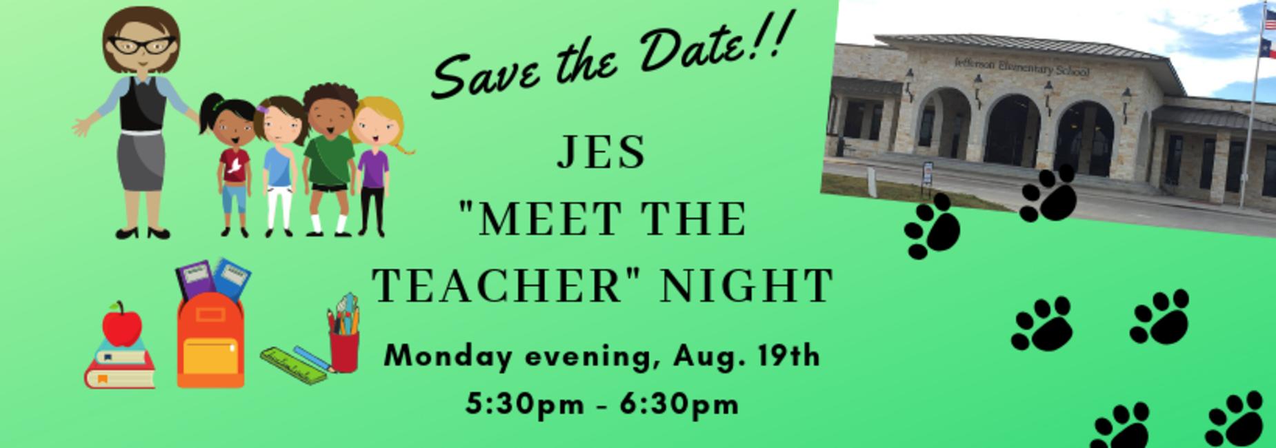 Meet the teachers with supplies