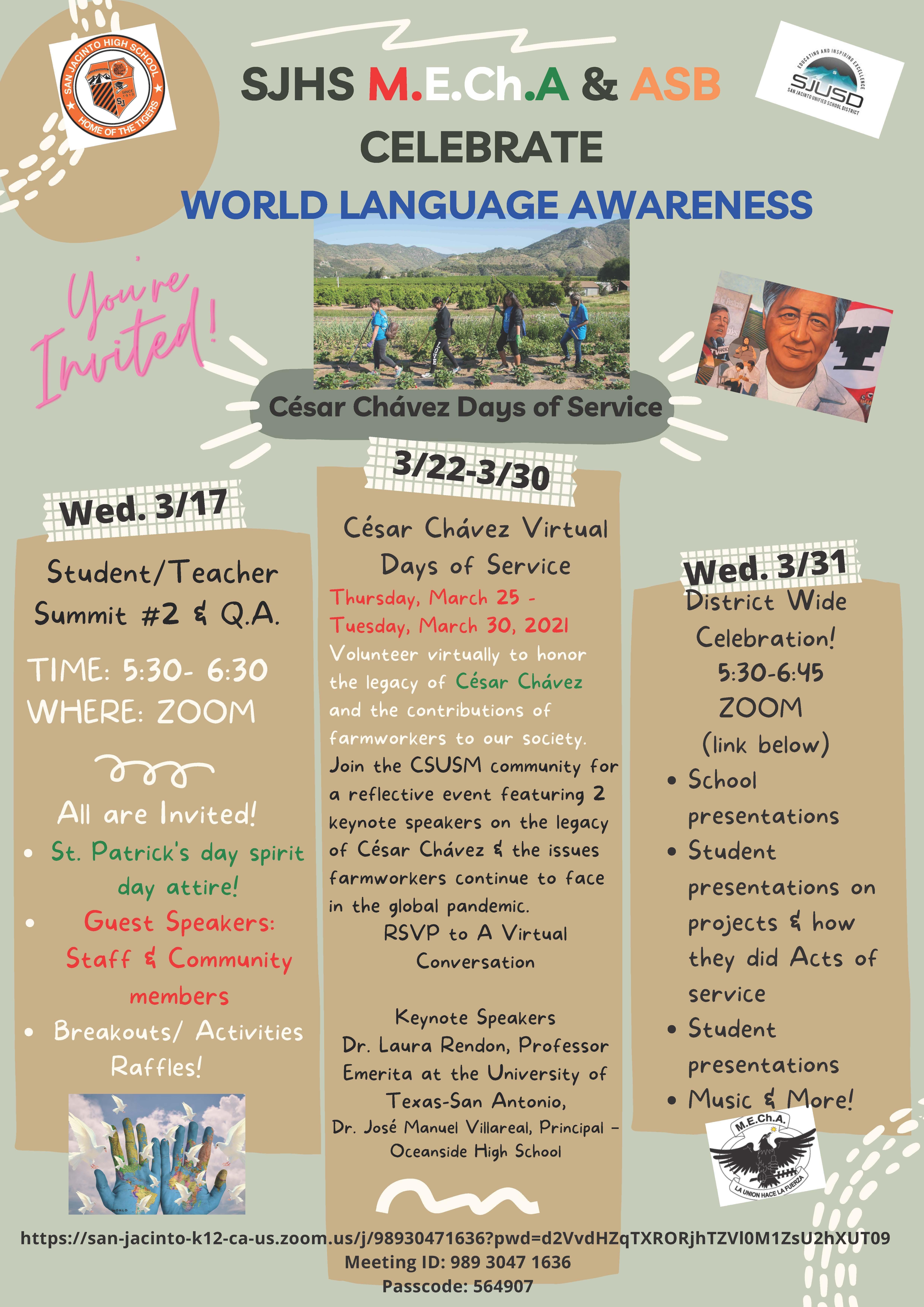 World Language Awareness Activities