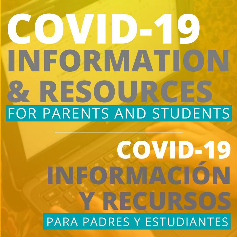 Coronavirus (COVID-19) Information / Información sobre el Coronavirus (COVID-19) Featured Photo