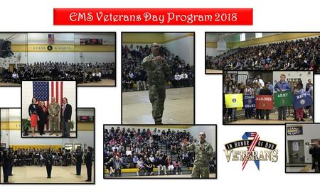 EMS 2018 Veterans Day Program