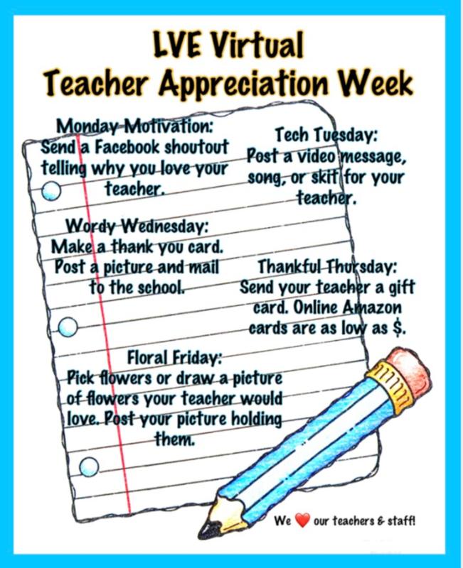 Teacher and Staff Appreciation Week Thumbnail Image