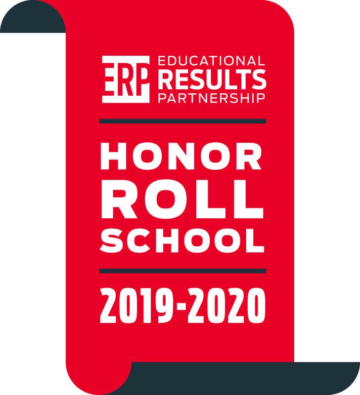 Educational Results Partnership (ERP) Honor Roll School Thumbnail Image