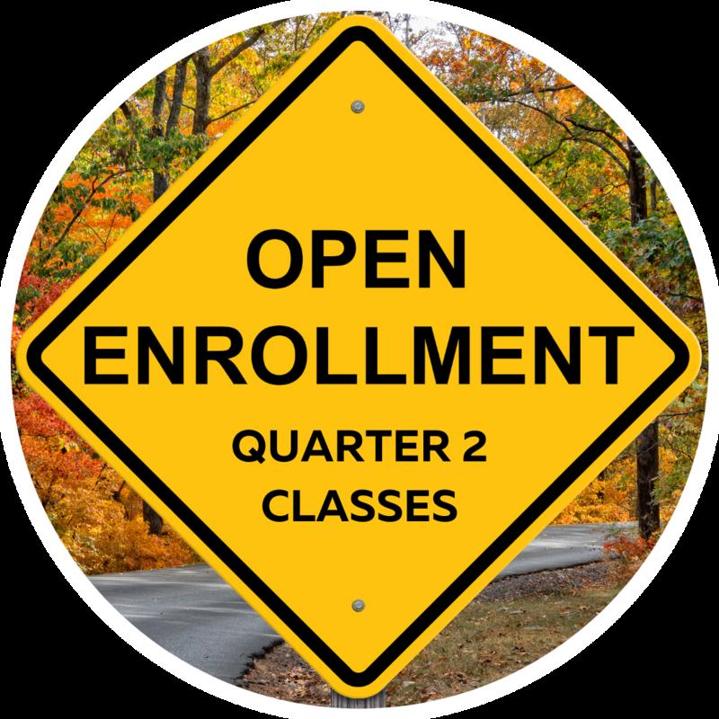 Open Enrollment Announcement for Quarter 2