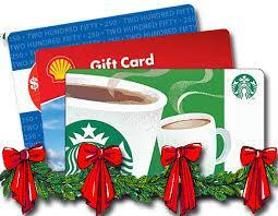 holiday gift cards image