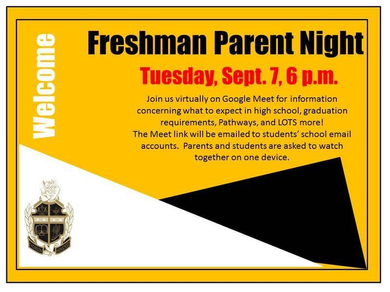 Freshman Parent Night