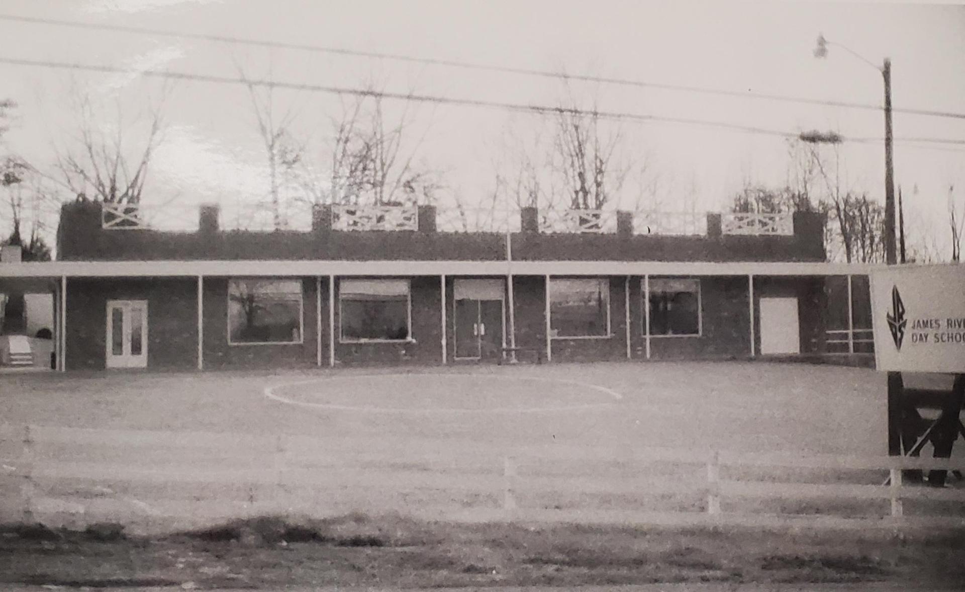 James River's original school building
