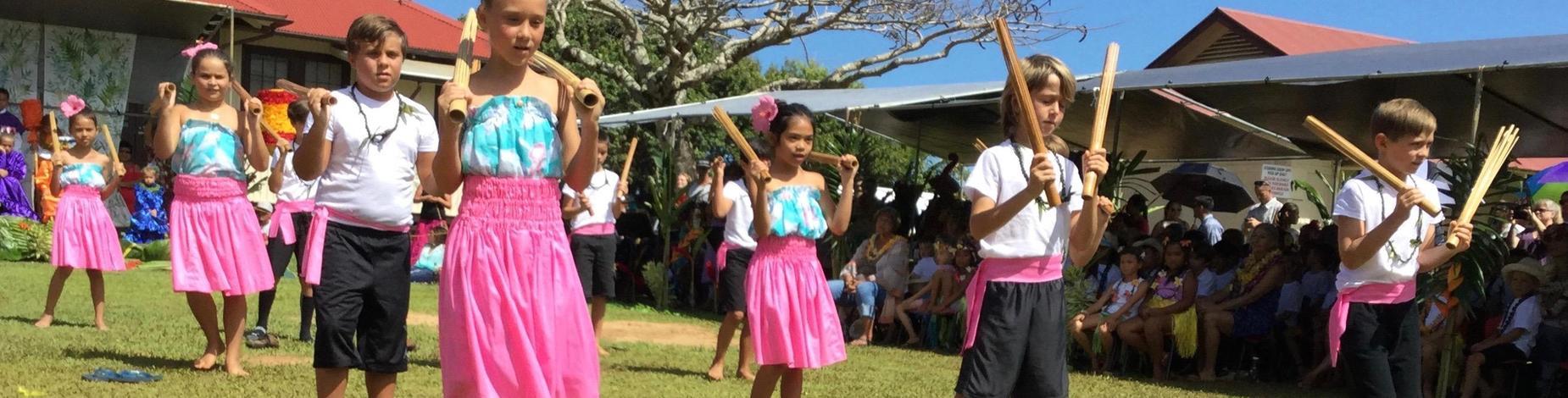 3rd Graders dance!