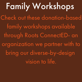Family workshop opportunities Featured Photo