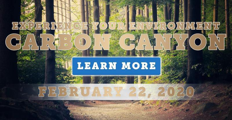 Experience Your Environment! Learn, Do, and Act at Carbon Canyon on February 22
